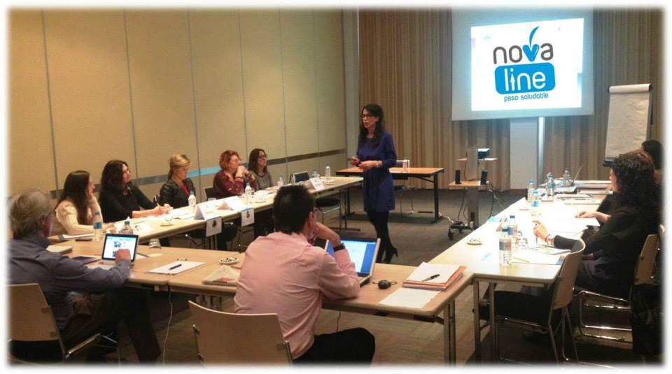 Jornadas novaLine y el coaching nutricioal 2014